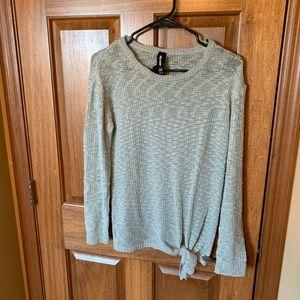Worn once! Agnes & Dora Open Weave Sweater